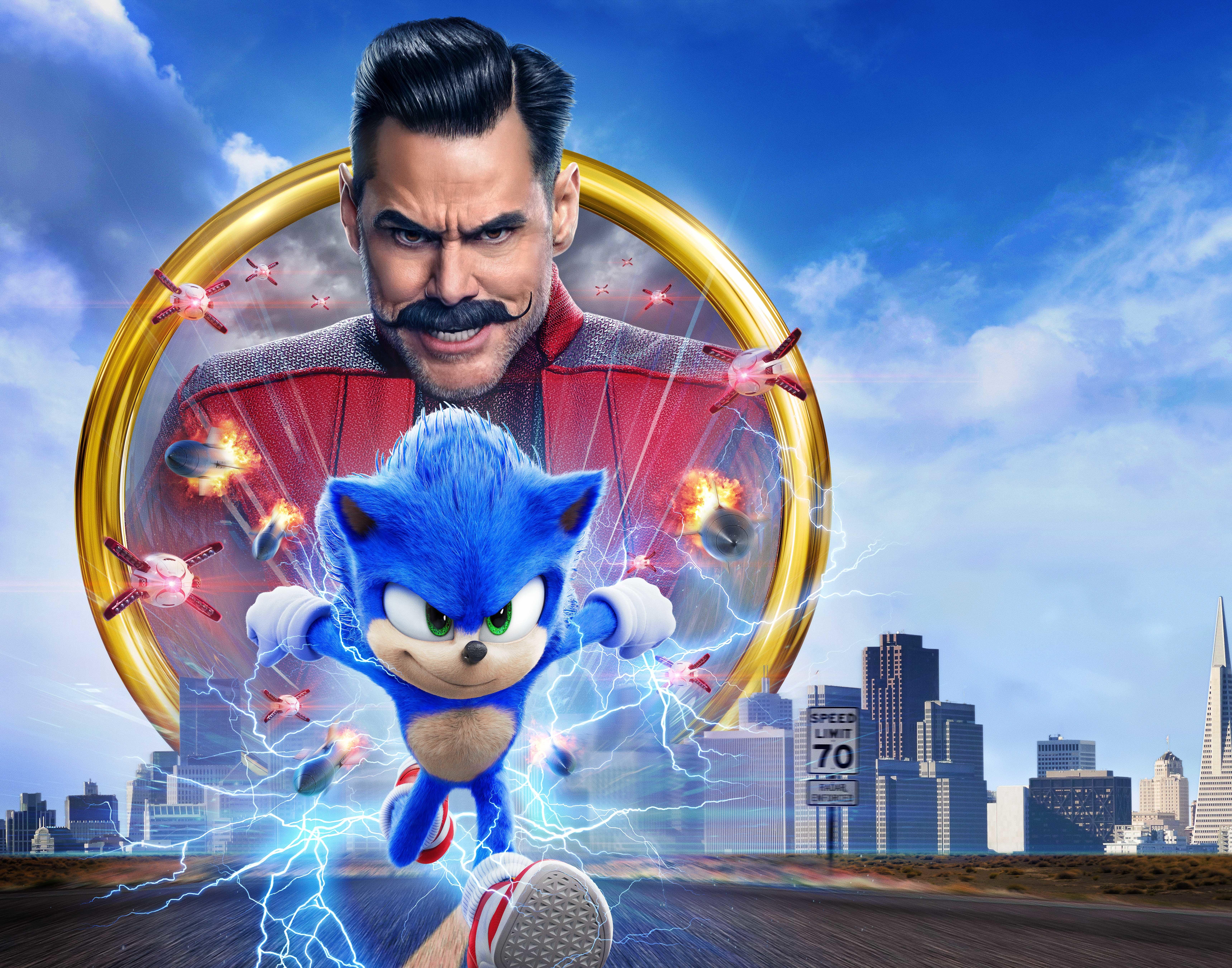 Sonic Hedgehog 8K Wallpaper HD Movies 4K Wallpapers Images 6877x5403