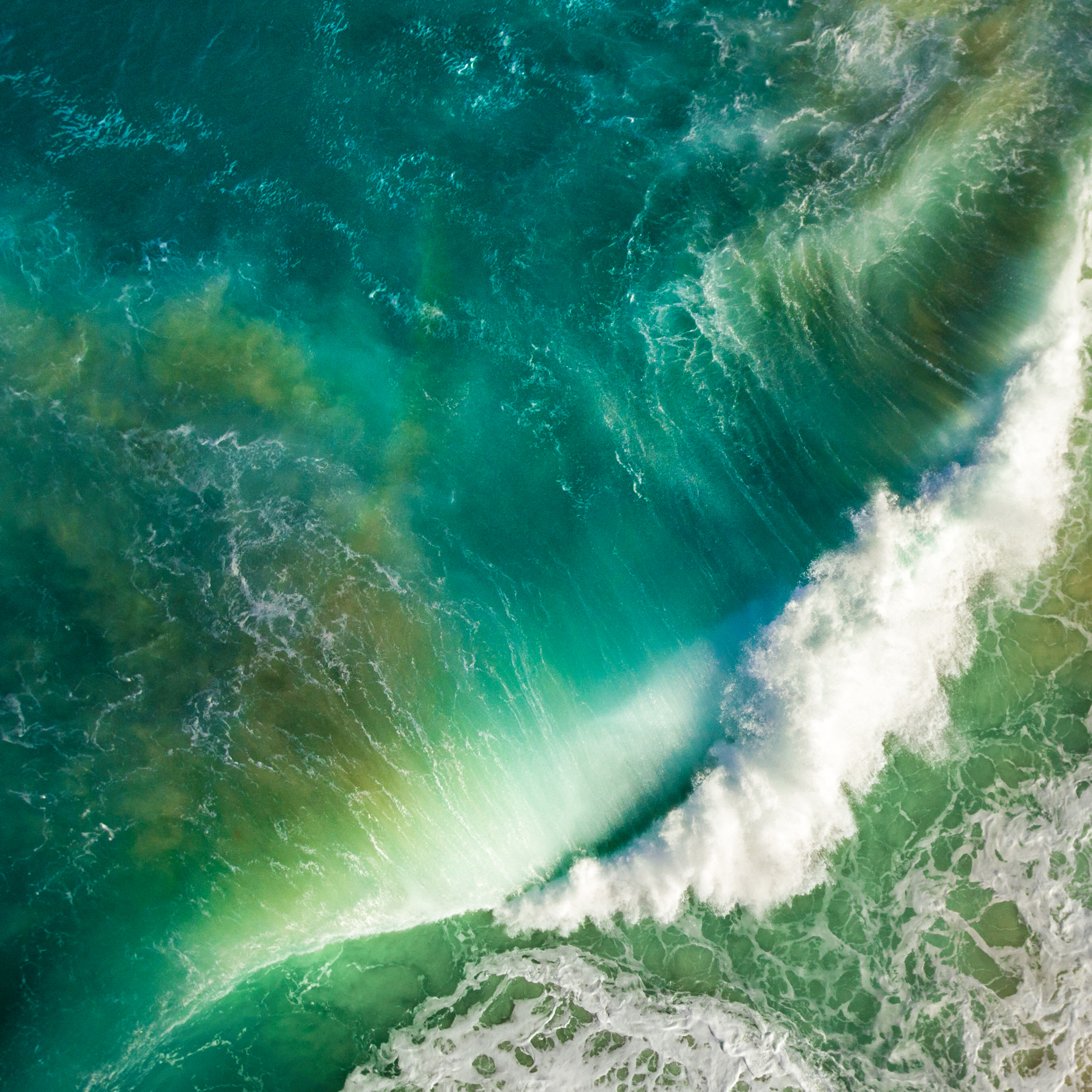 Download the Real iOS 10 Wallpaper for iPhone   iClarified 2706x2706