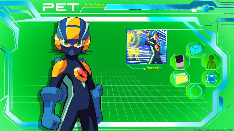 MegaManEXE PET Desktop Wallpaper by Mega X stream 900x506