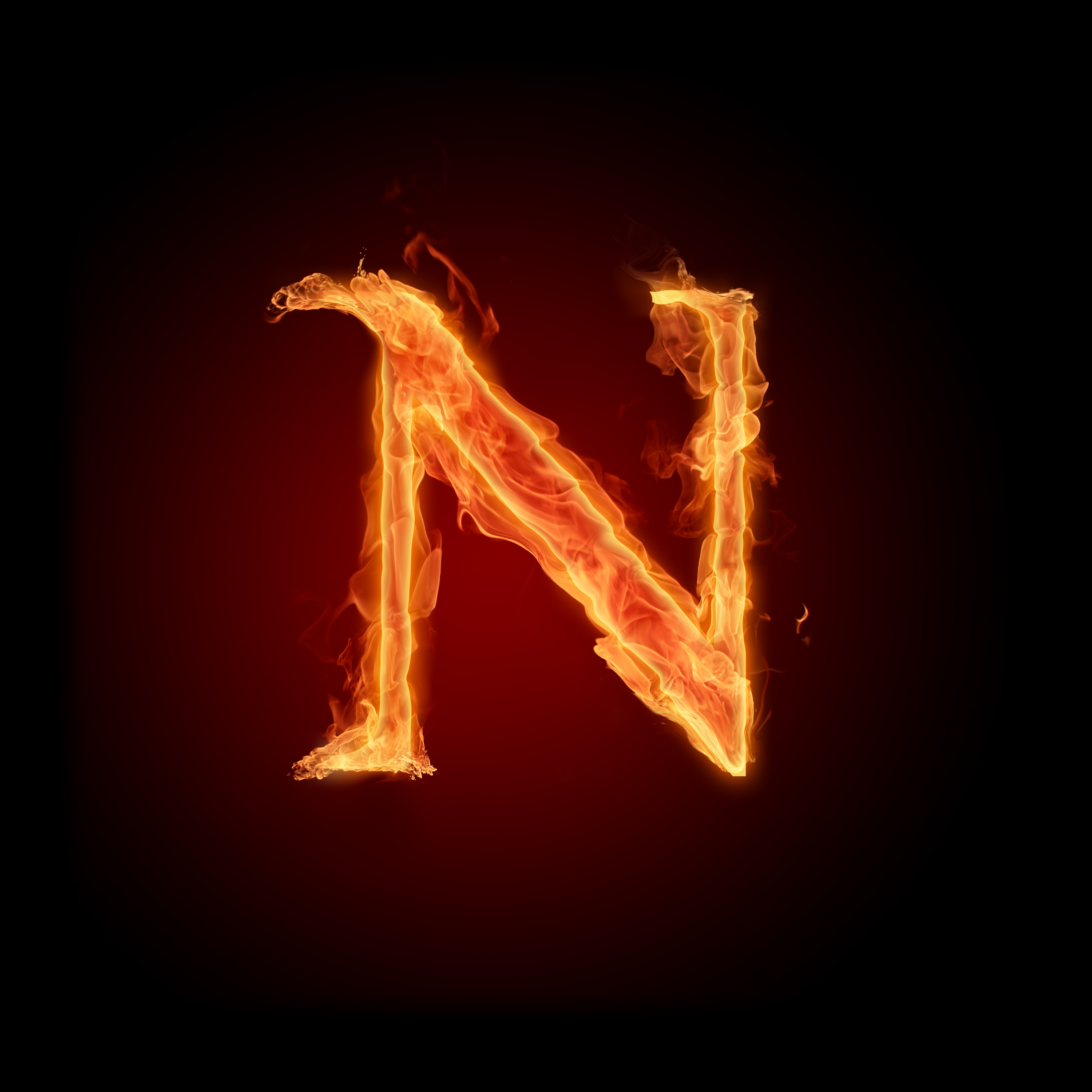 Fire Letters Wallpapers HD 3000X3000 M R Photo 6 Of Phombocom 3000x3000