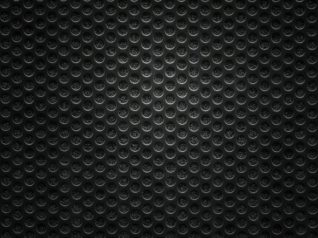 Technology Background With Circular Mesh: Black Mesh Wallpaper