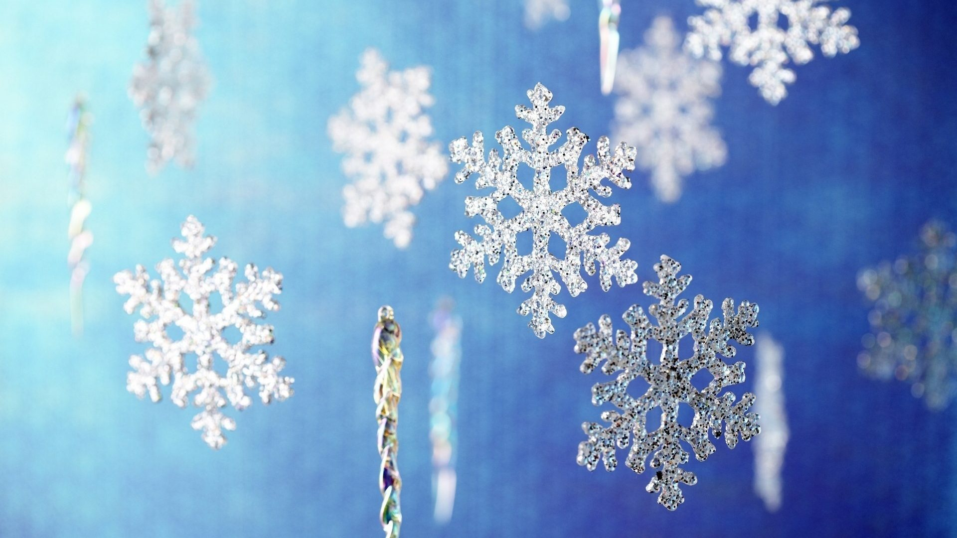 winter holiday pretty seasons festival snowflakes new bright 1920x1080