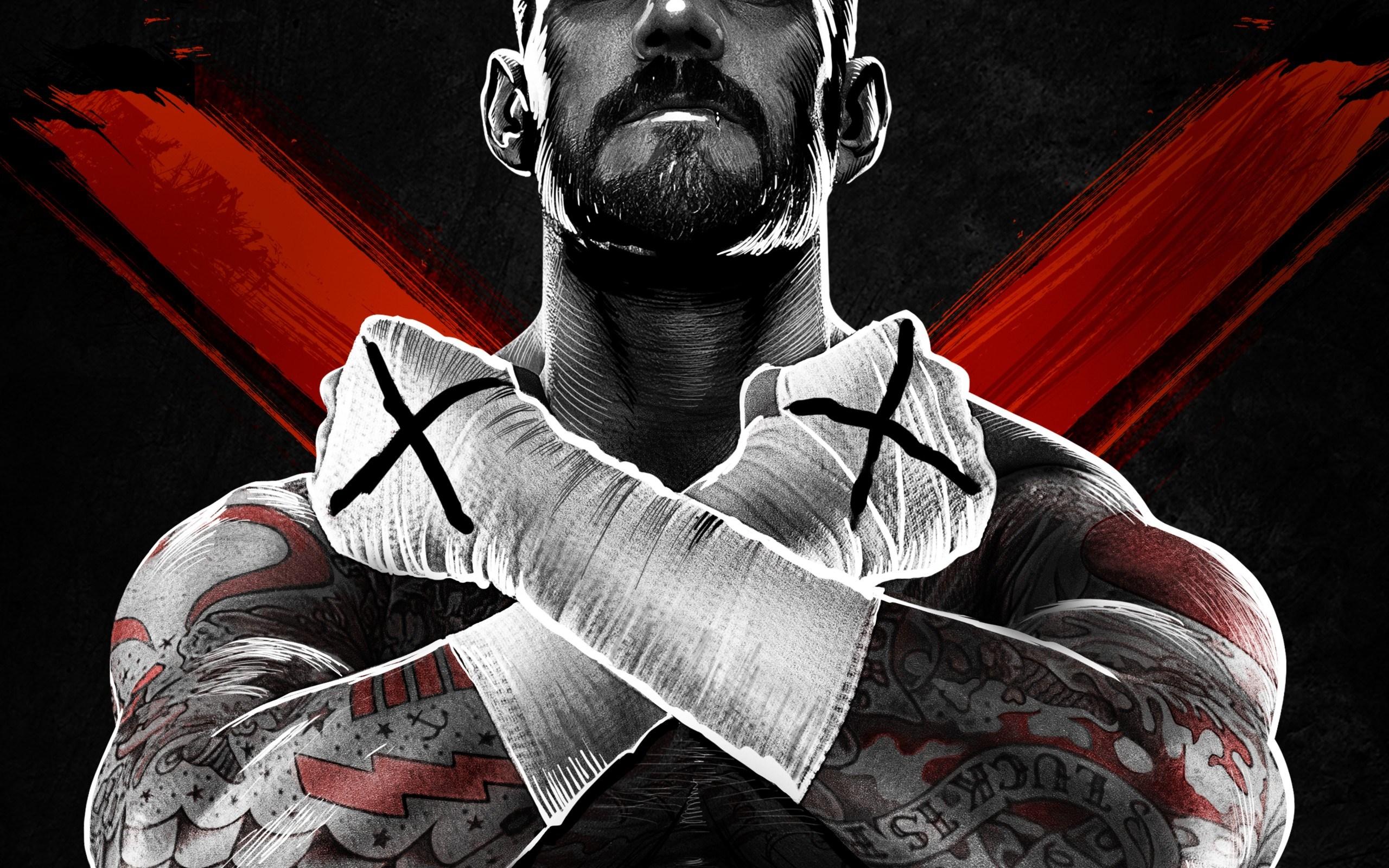 wwe professional tattoo X man boxing game wallpaper 2560x1600