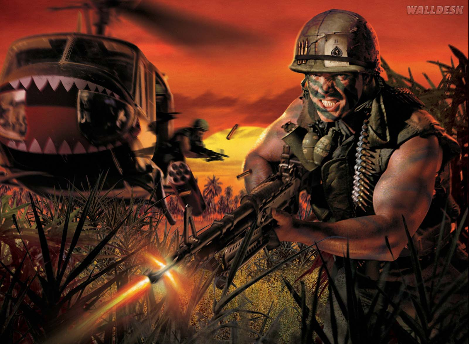 Wallpapers Battlefield Vietnam Papis de parede Battlefield Games 1600x1172