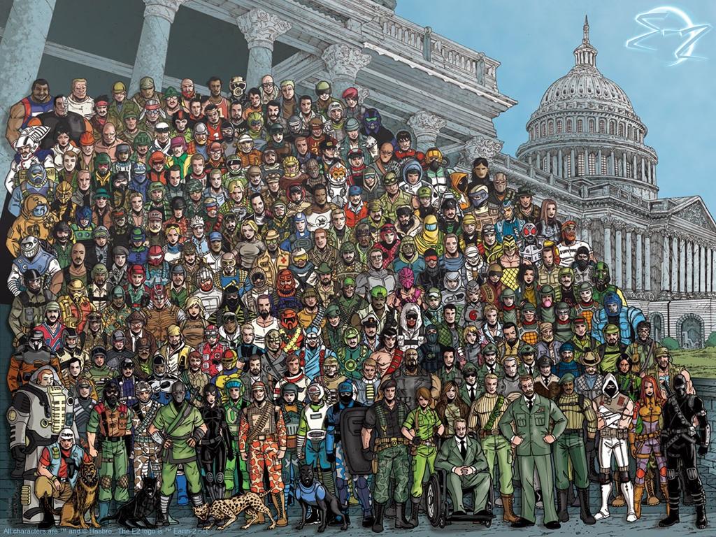 GI Joe Characters wallpaper   Animebay Wallpapers 1024x768
