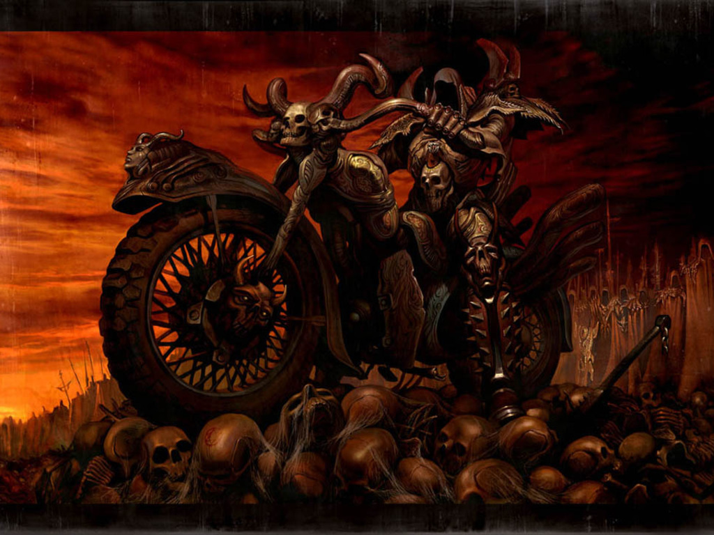 Ride to Hell Wallpapers Art Wallpaper 1024x768