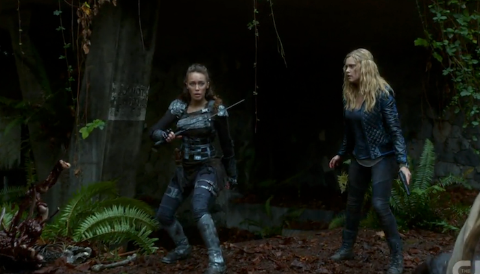 Free Download Lexa And The 100 Cw Clarke Wallpaper 700x400