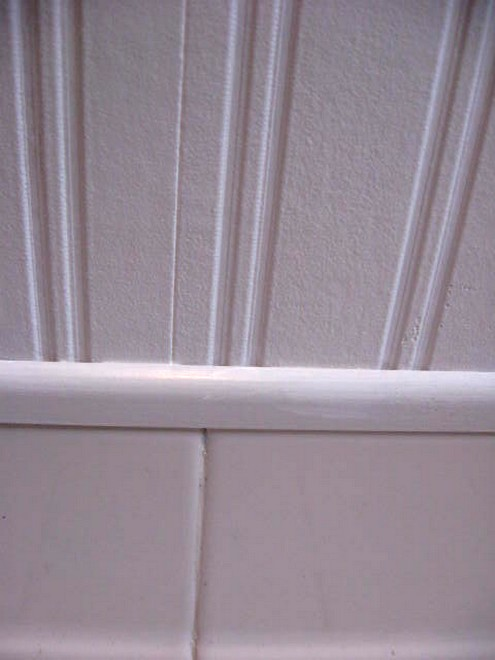 trim molding and the wallpaper Once you paint over the wallpaper 495x660
