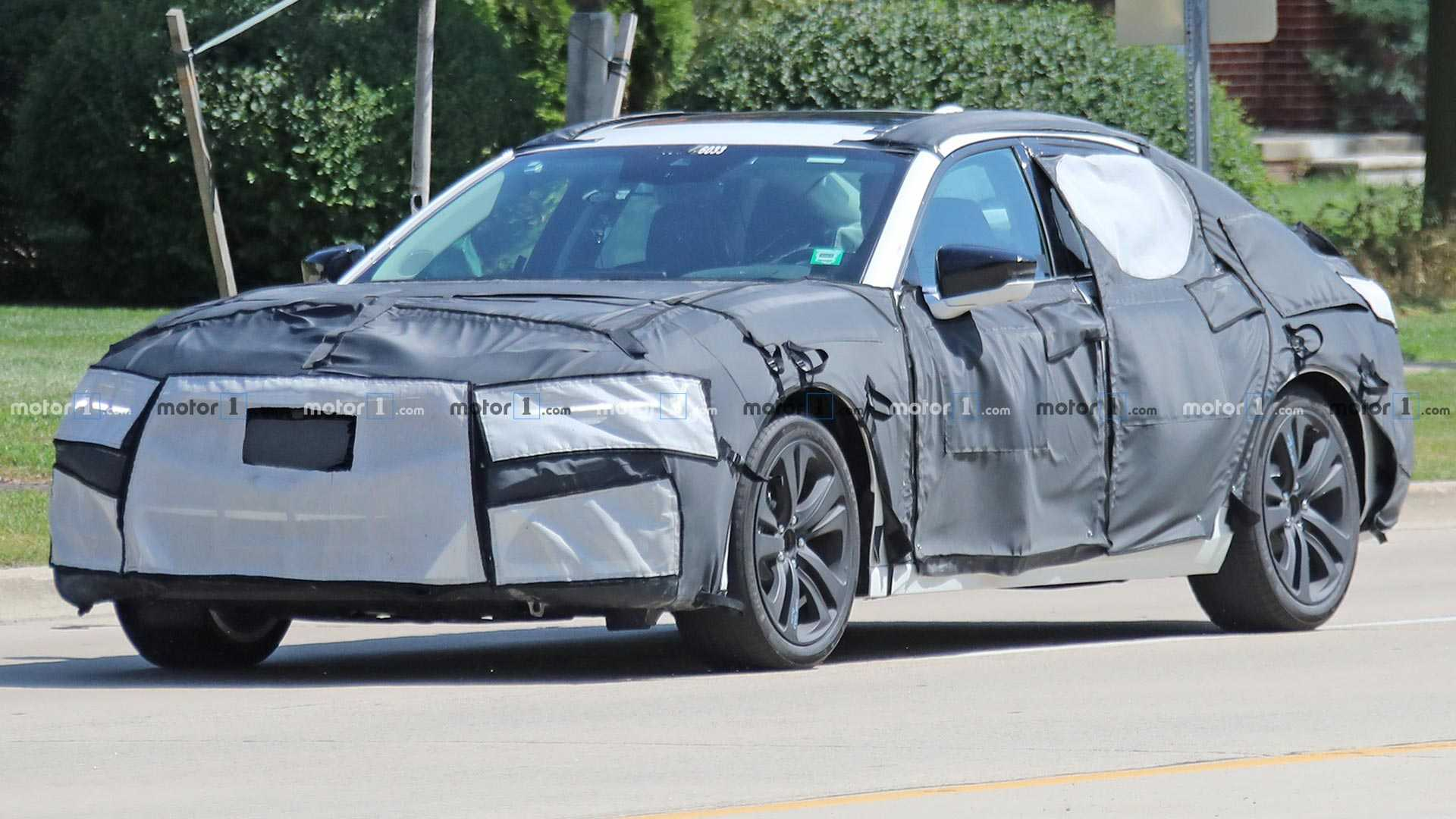 2021 Acura TLX Spied With Influences From Gorgeous Type S Concept 1920x1080