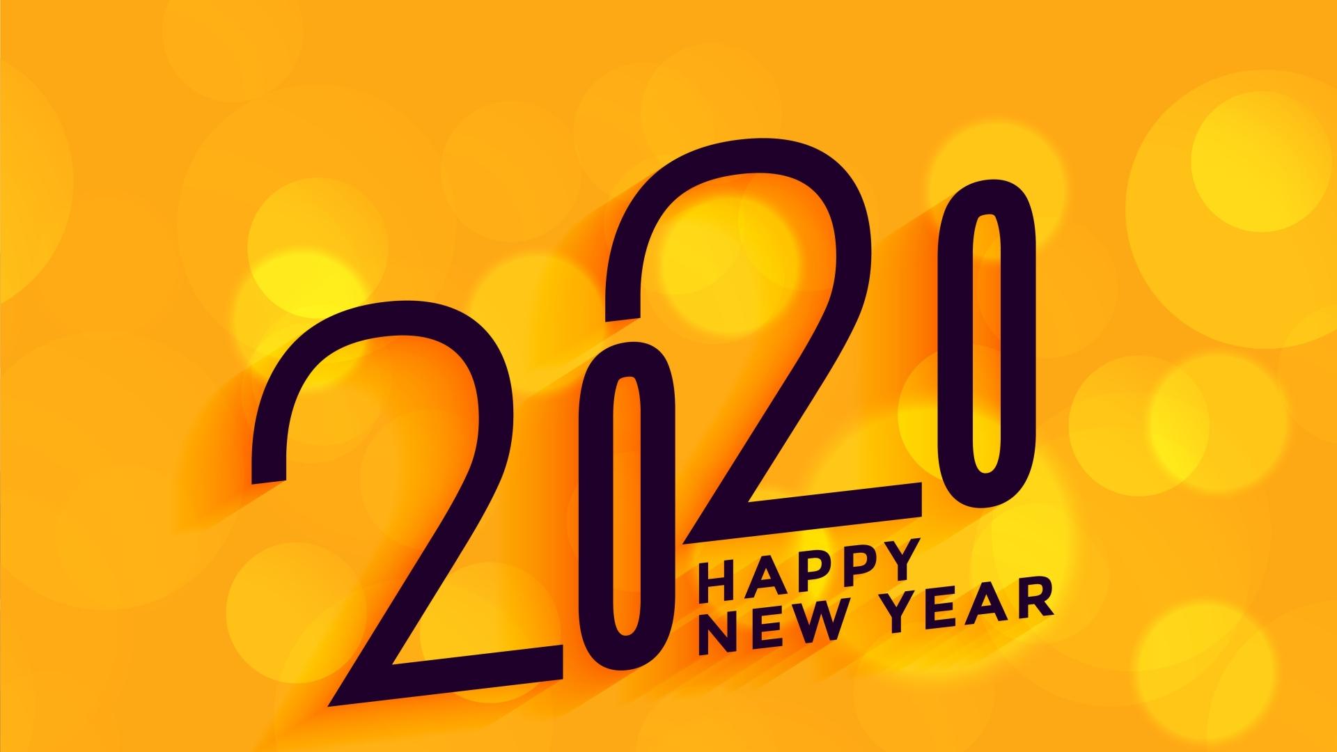 1920x1080 2020 New Year 1080P Laptop Full HD Wallpaper HD 1920x1080