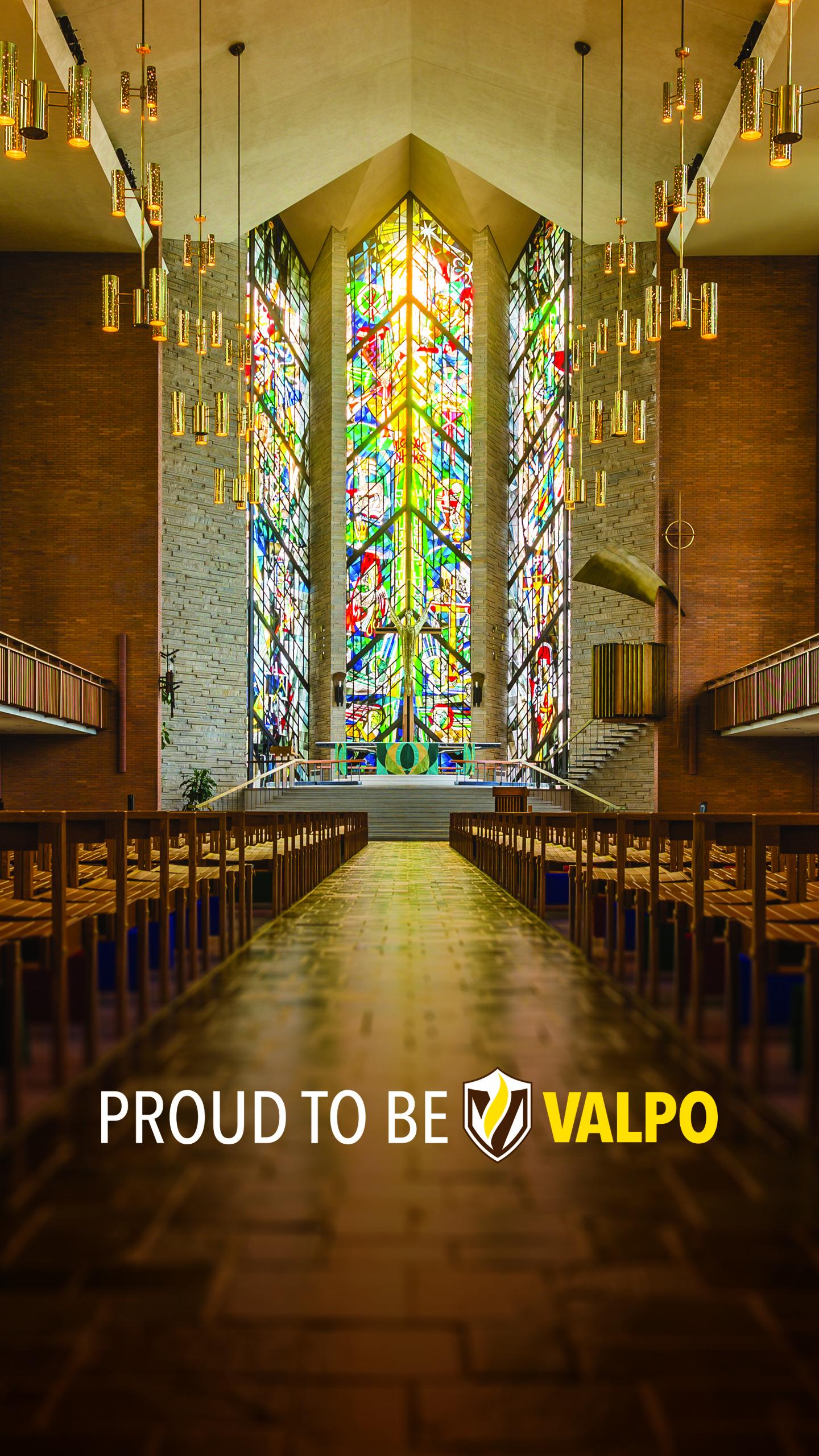 mobile wallpaper chapel interior   Forever Valpo 1440x2560