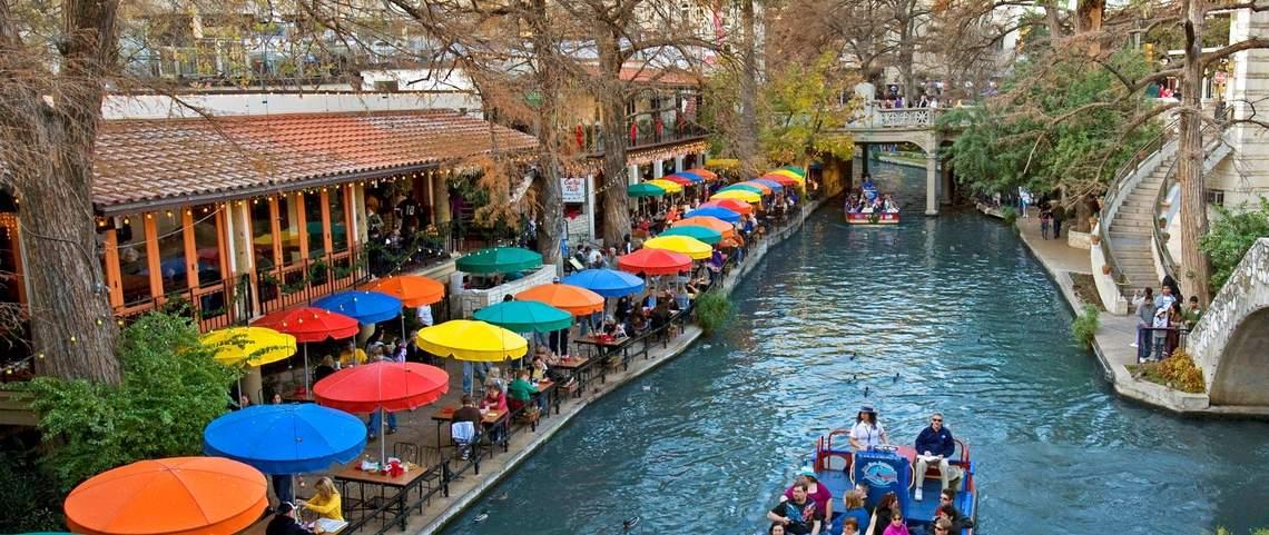 San Antonio Riverwalk Wallpaper Wallpapersafari