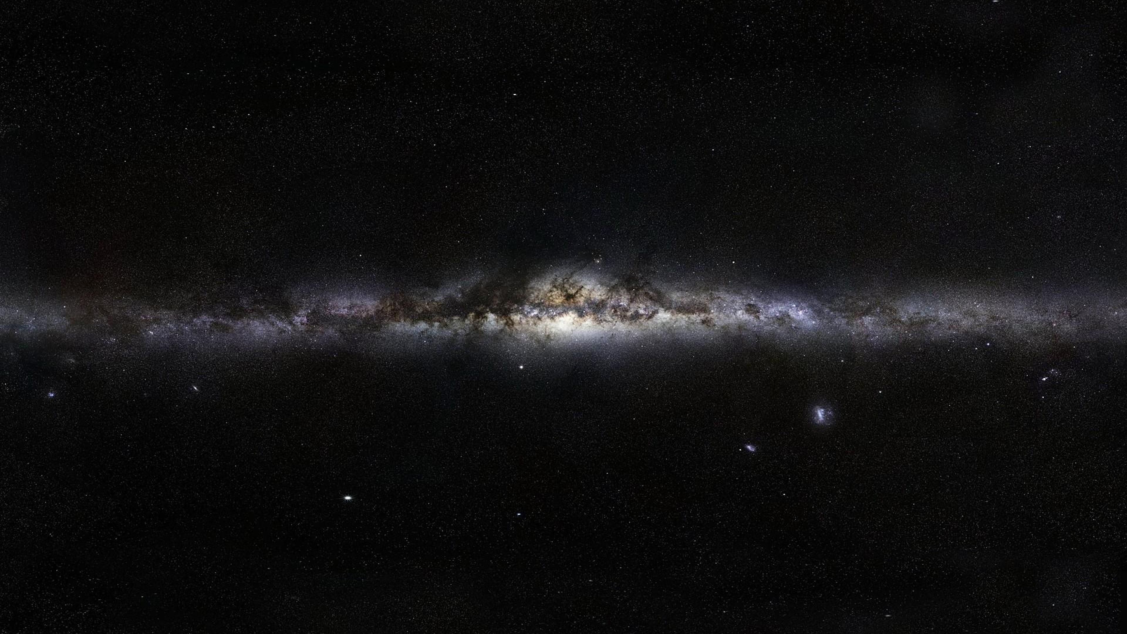 Stunning 4K Stars Dark Space 3840x2160