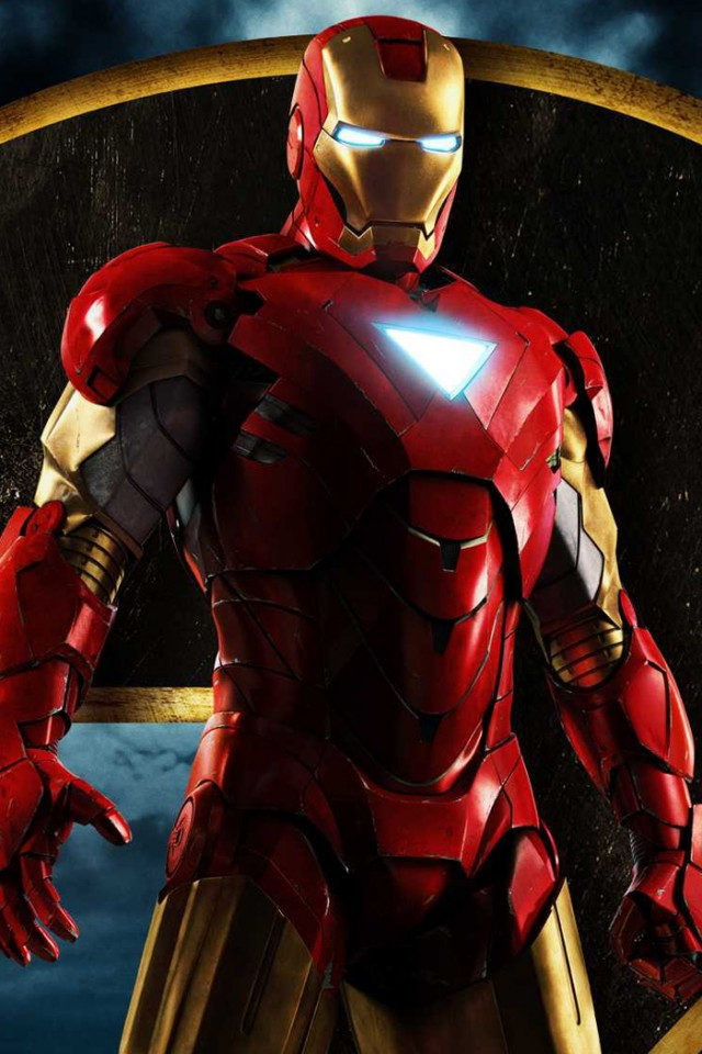 Iron Man Retina Wallpaper For iPhone 4S 640x960