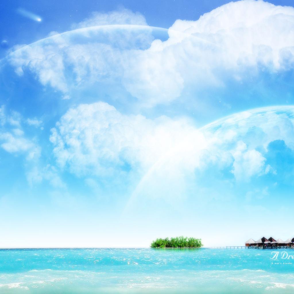 Blue sky desktop wallpaper wallpapersafari - Set video as wallpaper ...