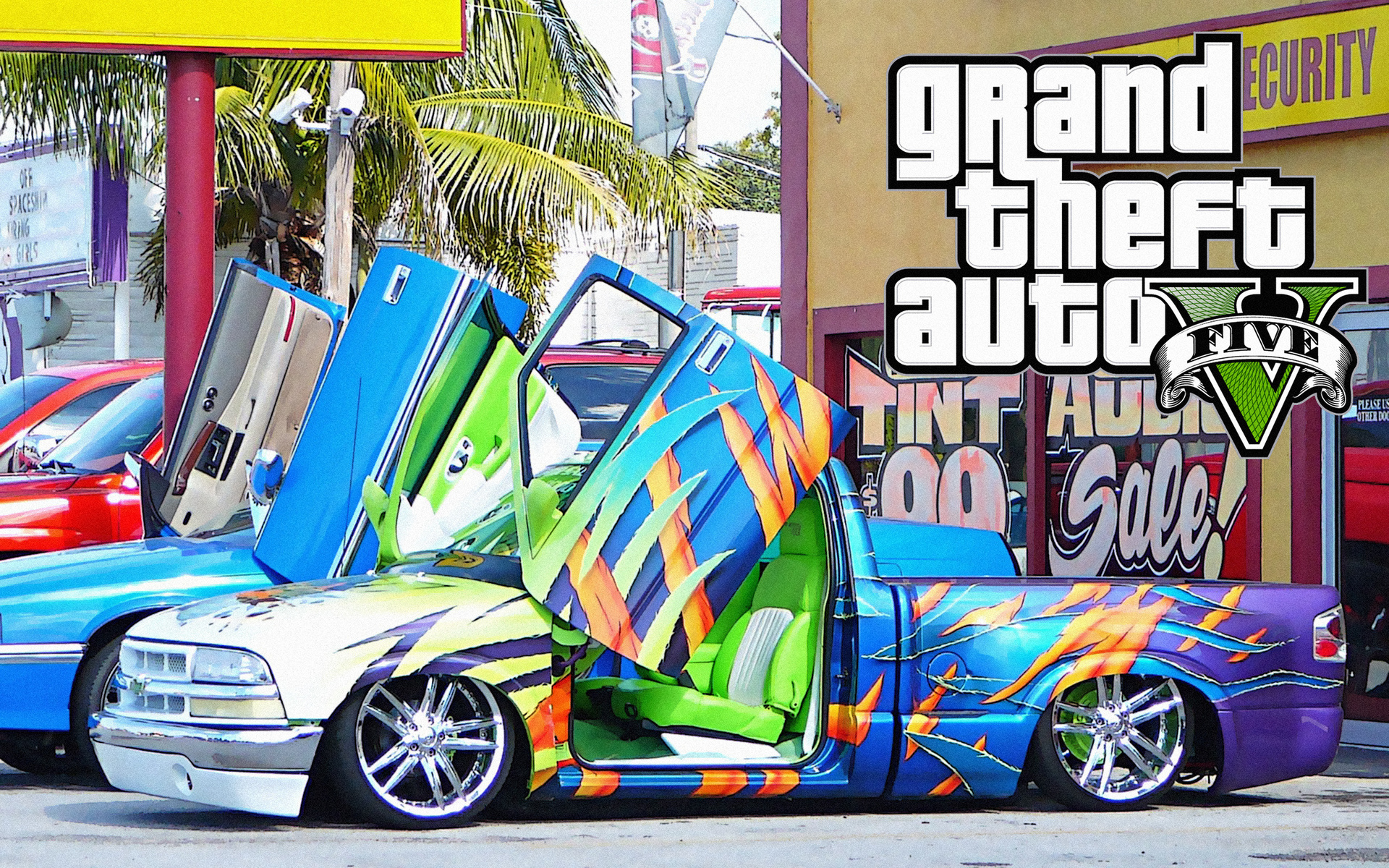 Grand Theft Auto 5 Cars Wallpapers HD 1920x1200