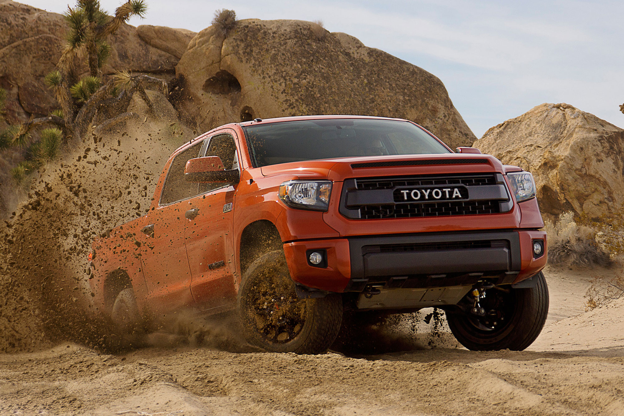 2015 Toyota Tundra TRD Pro Series Wallpaper 2000x1333