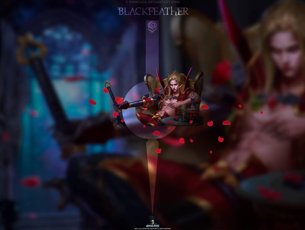 Wallpaper Blackfeather Love Bites   VG   iPad by RamKaos 1029x777