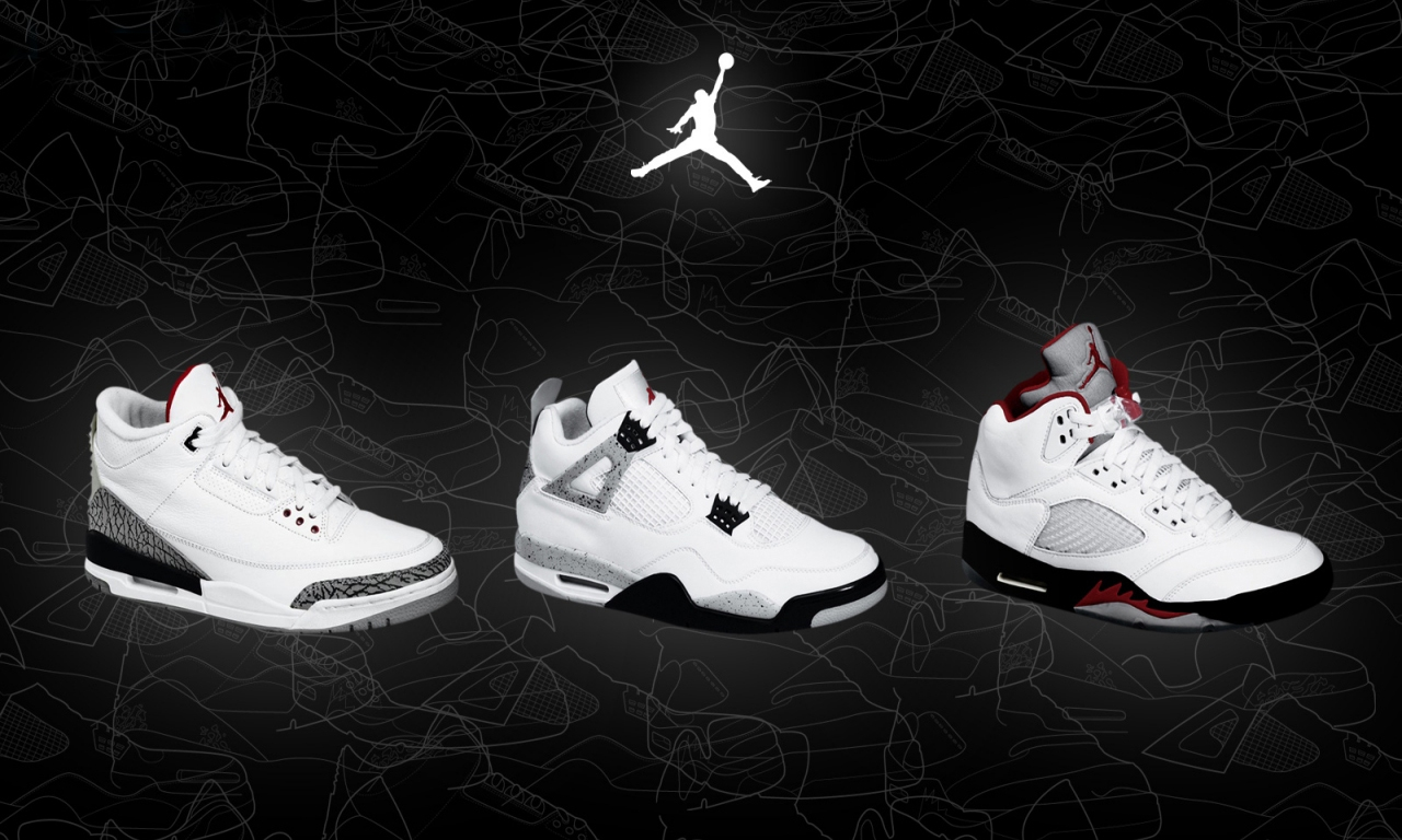 Nike Air Jordans Wallpaper