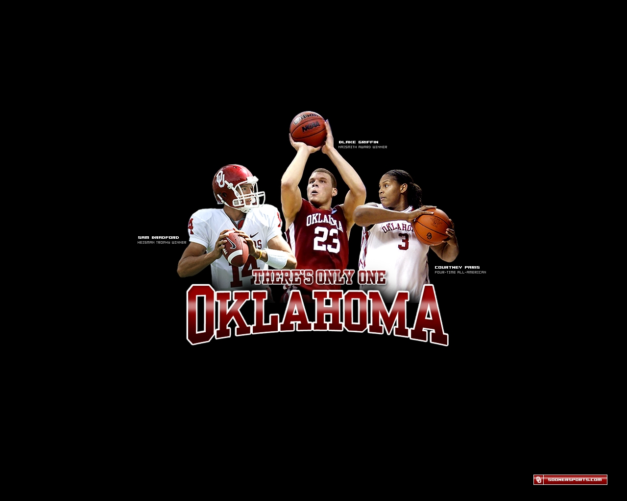 1280x1024 Oklahoma Sooners   Only One Wallpaper Download 1280x1024