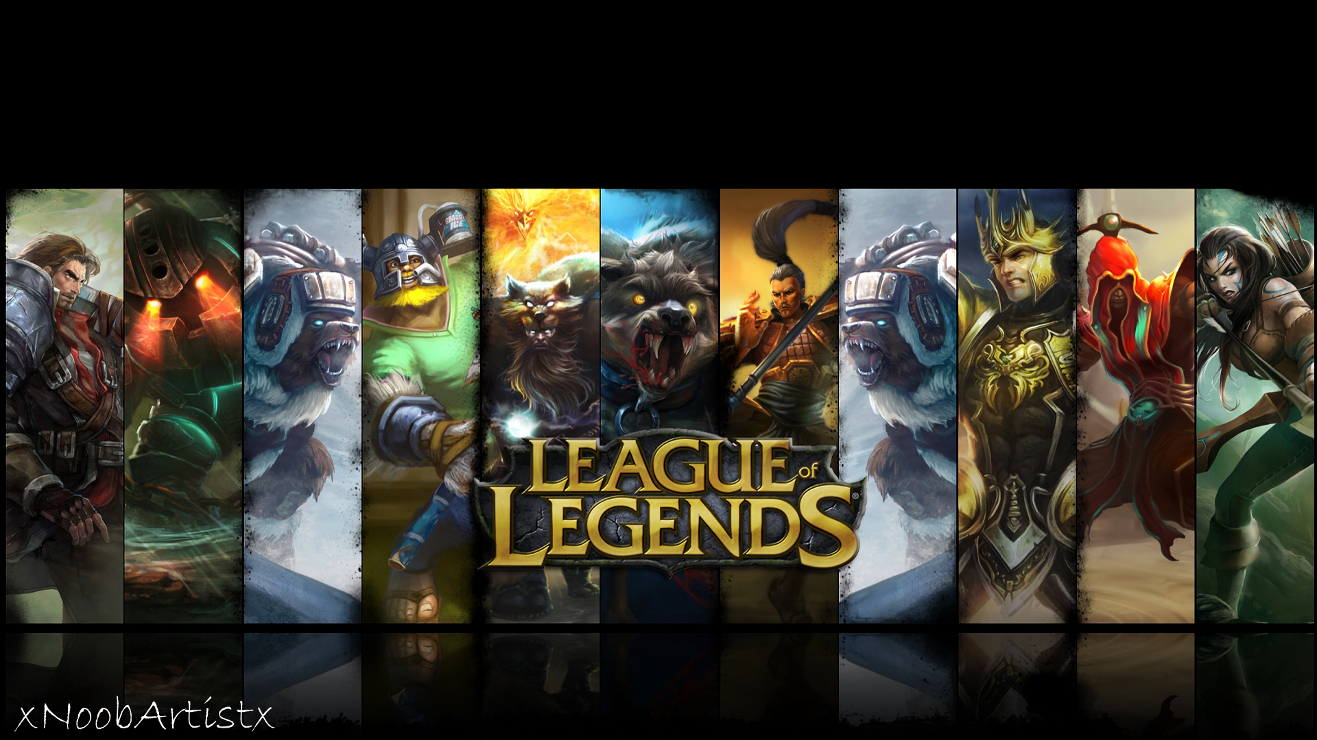 League Of Legends HD Wallpaper Background Image 1920x1080 ID 1920x1080