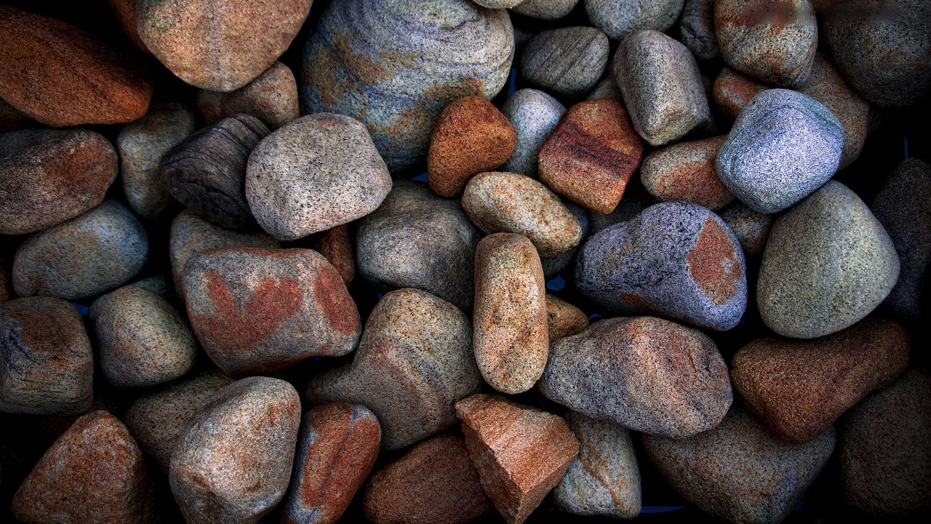 Pictures Full hd wallpapers 1920x1080 macro pebbles rocks stones 1920x1080