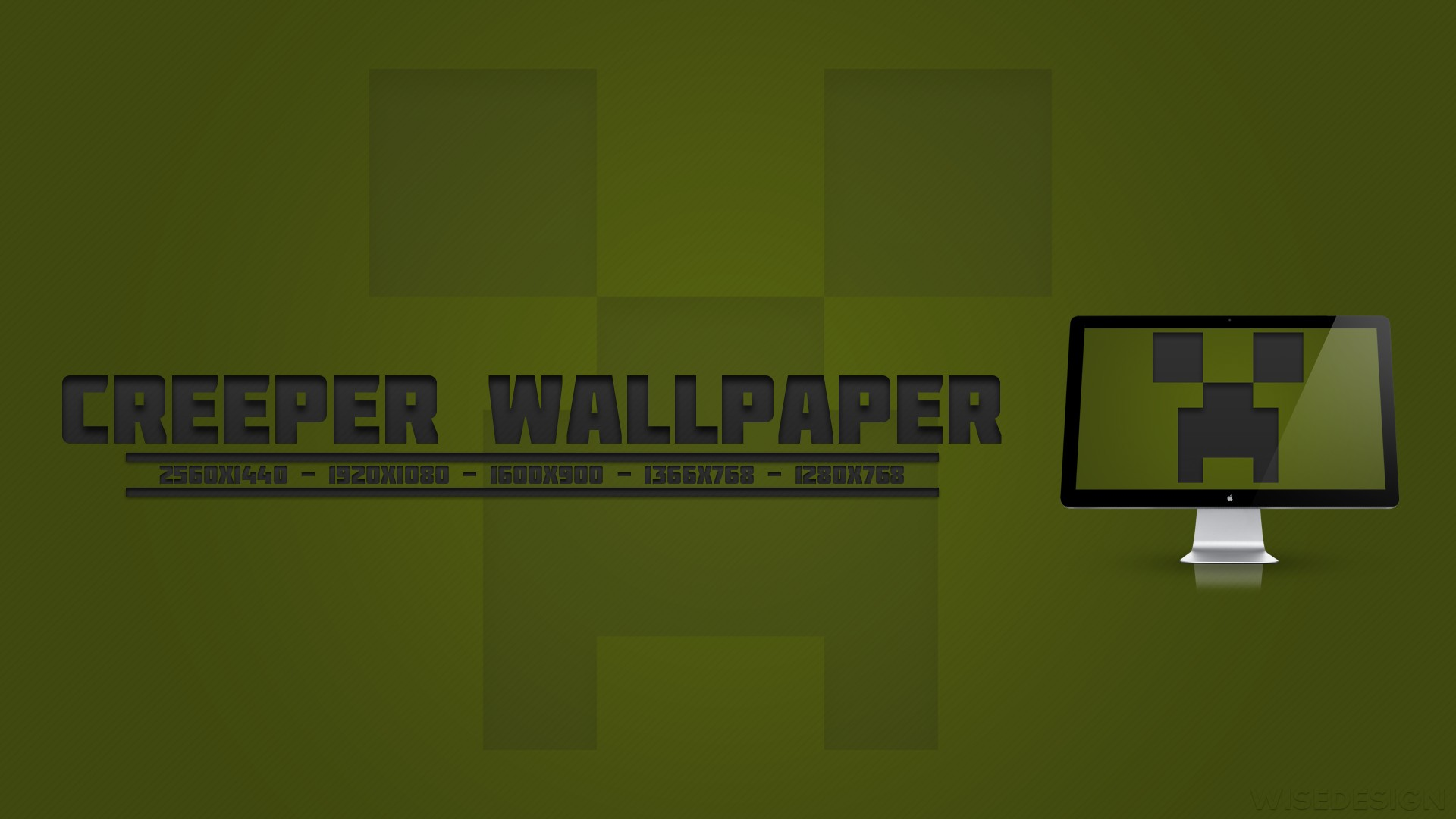 Minecraft Creeper Wallpapers for Computer HD Wallpaper of Minecraft 1920x1080
