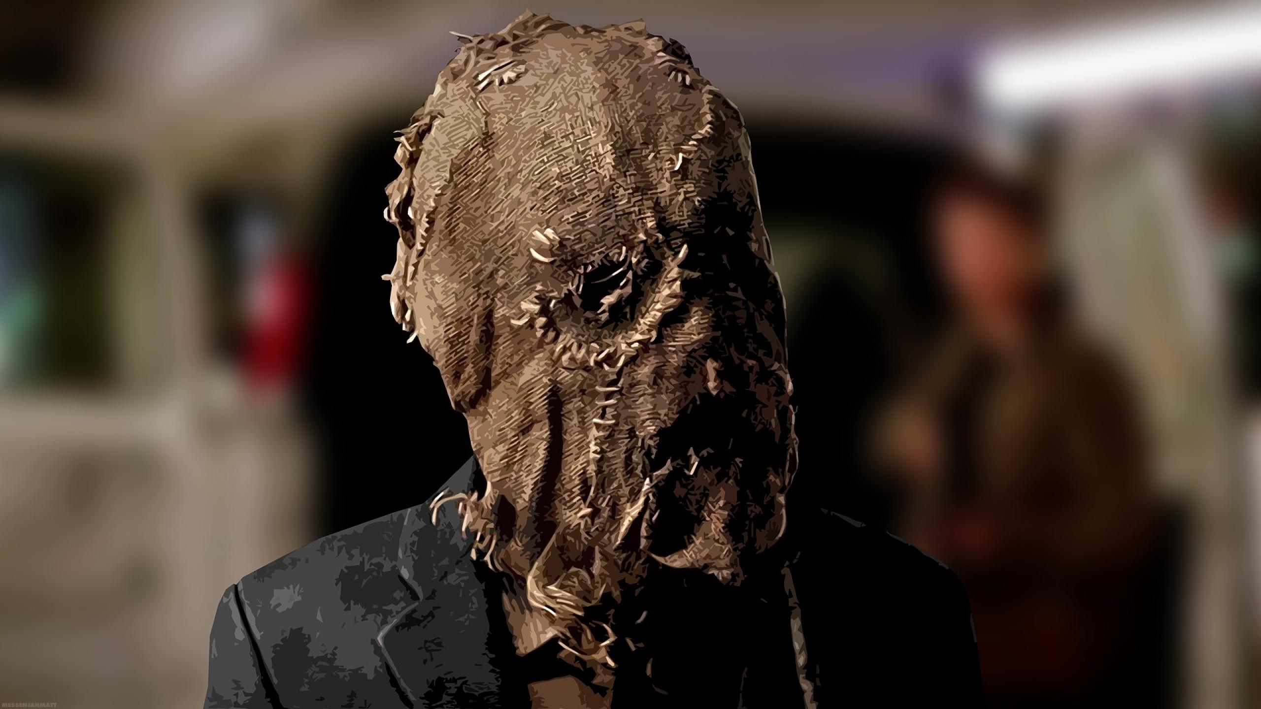 2560x1440 batman villains batman begins masks cillian murphy scarecrow 2560x1440