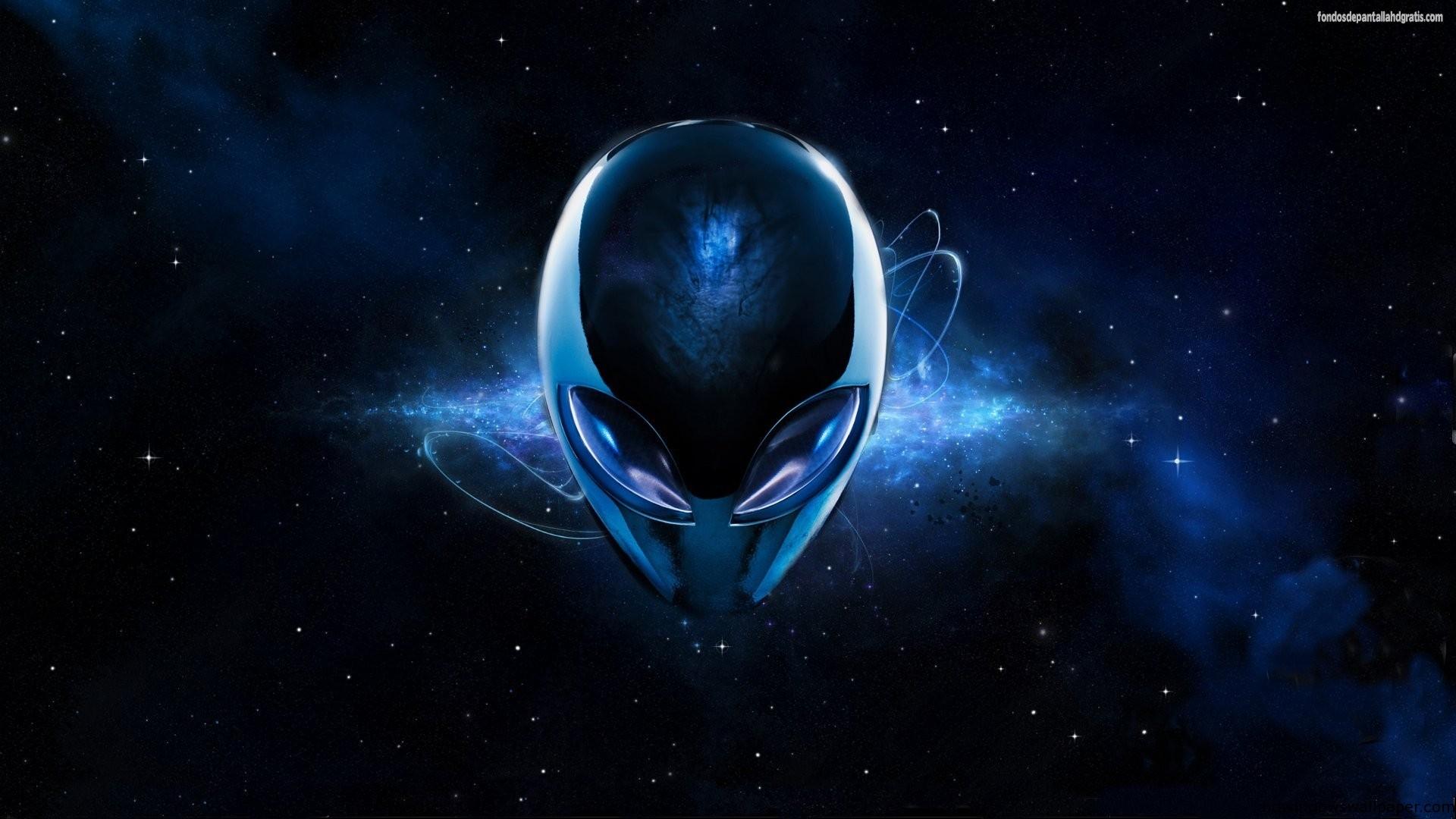 Descargar imagen 3d dark blue alien hd widescreen Gratis 13407 1920x1080