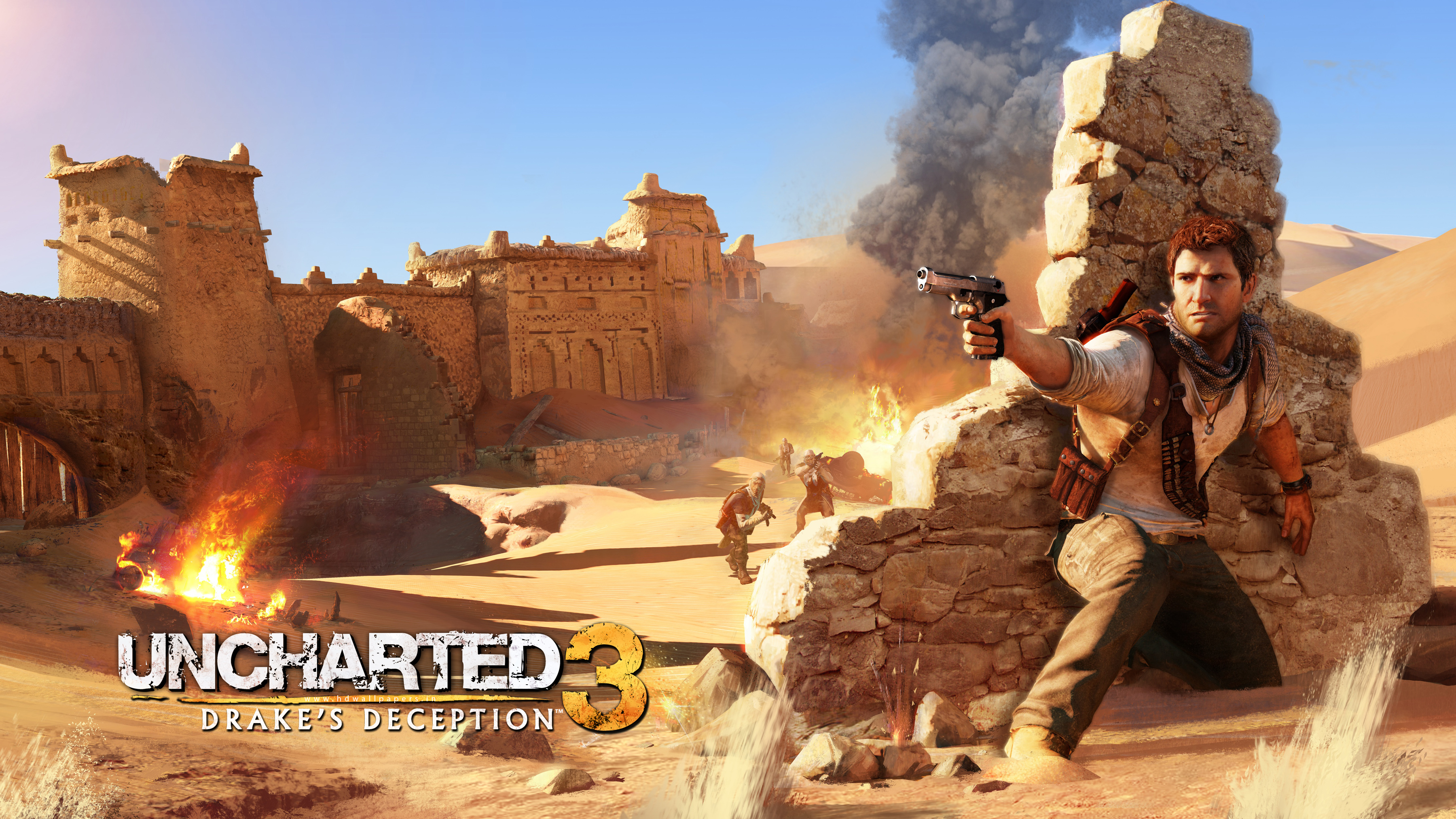 Drake in Uncharted 3 Wallpapers HD Wallpapers 3600x2025