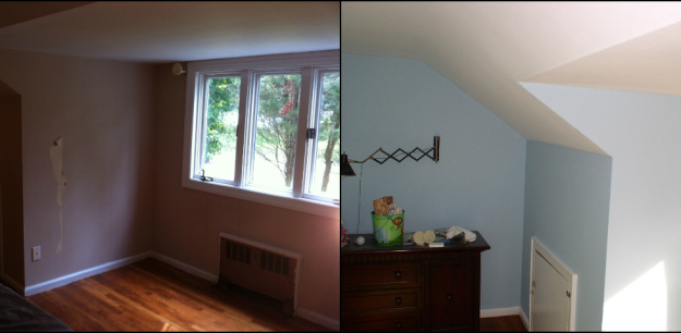 Painting Wallpaper Removal and Oil Priming to Prep Home for Sale 625x306