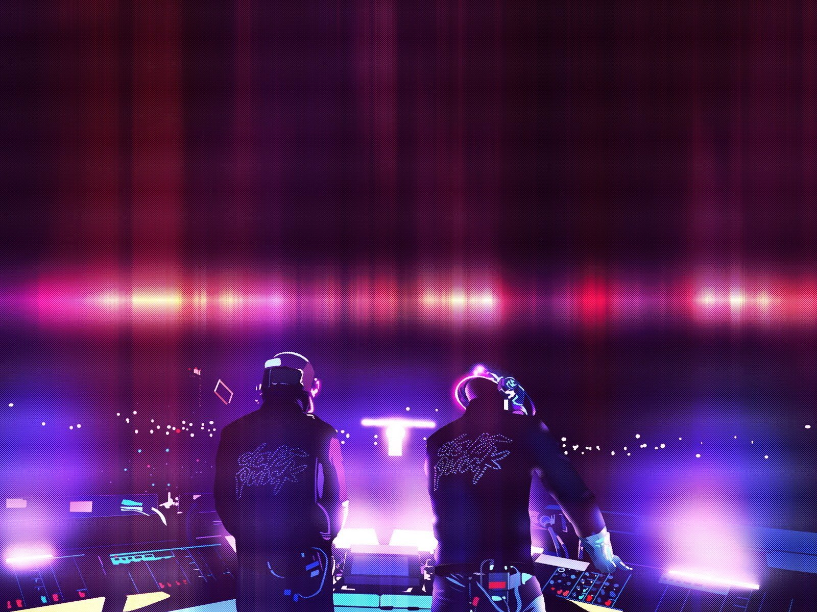 Daft Punk Live Concert Wallpaper wallpapers55com   Best Wallpapers 1600x1200