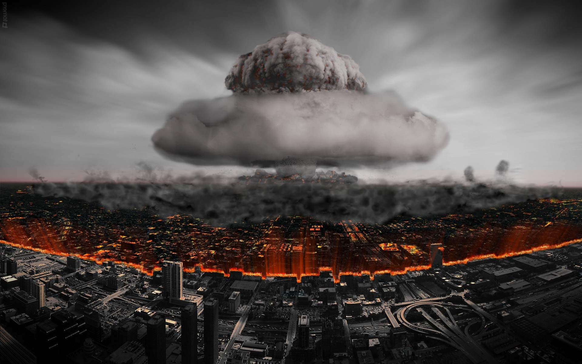 Nuclear explosion Wallpaper 3213 1920x1200