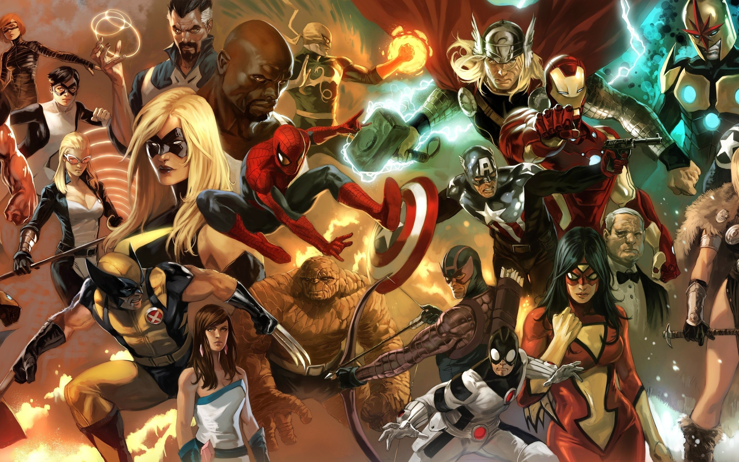 Marvel Computer Wallpapers Desktop Backgrounds 2560x1600 ID 2560x1600
