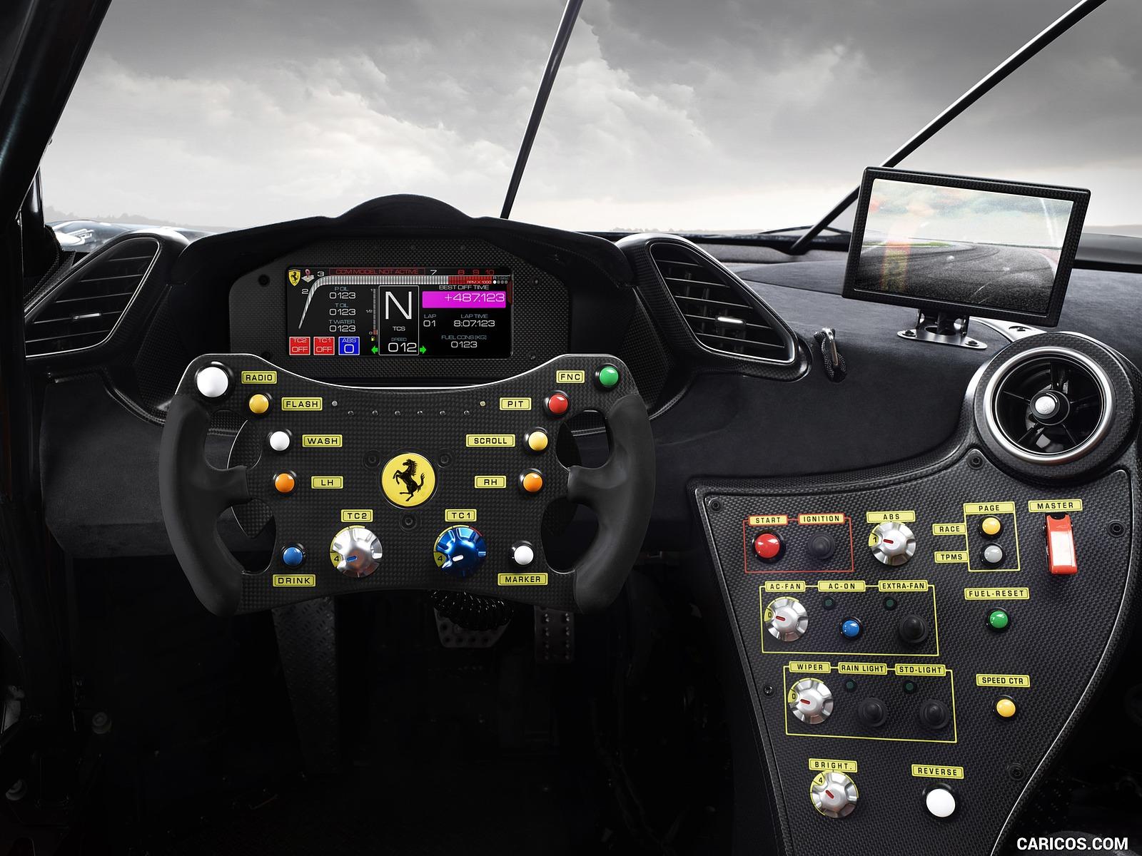 2020 Ferrari 488 Challenge Evo   Interior HD Wallpaper 4 1600x1200