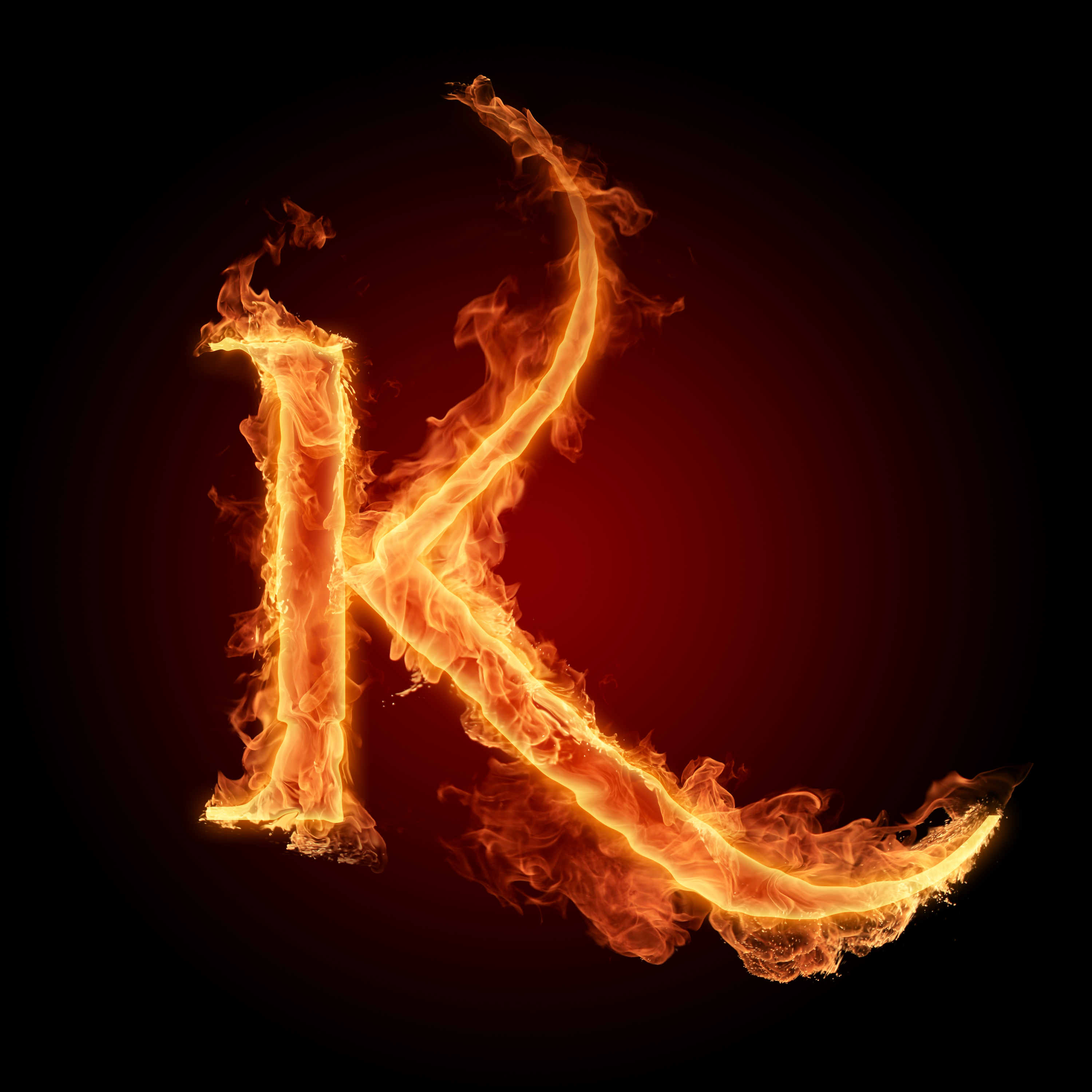 Fire Letters Wallpapers HD 3000X3000 A Z0 9   Photo 8 of 36 phombo 3000x3000