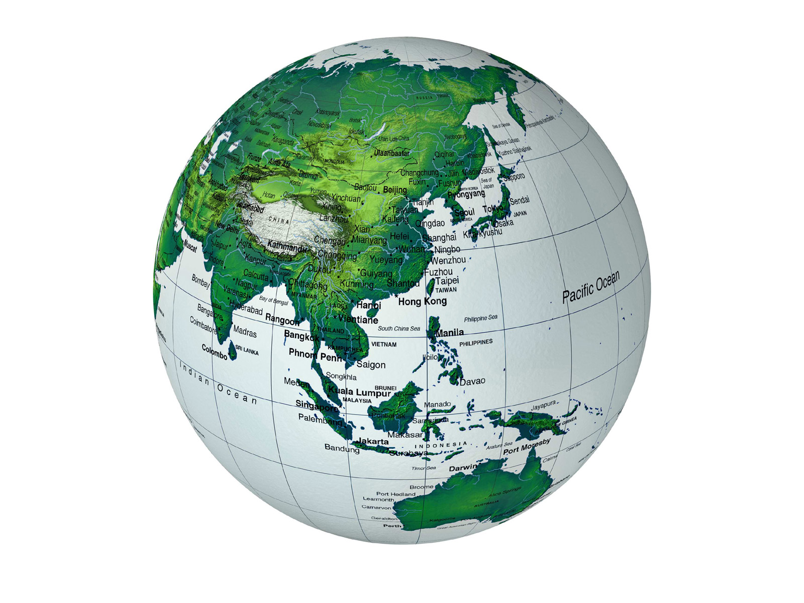 Image Globe Peta Dunia 1 Asia Tenggara Indonesia Download 1600x1200