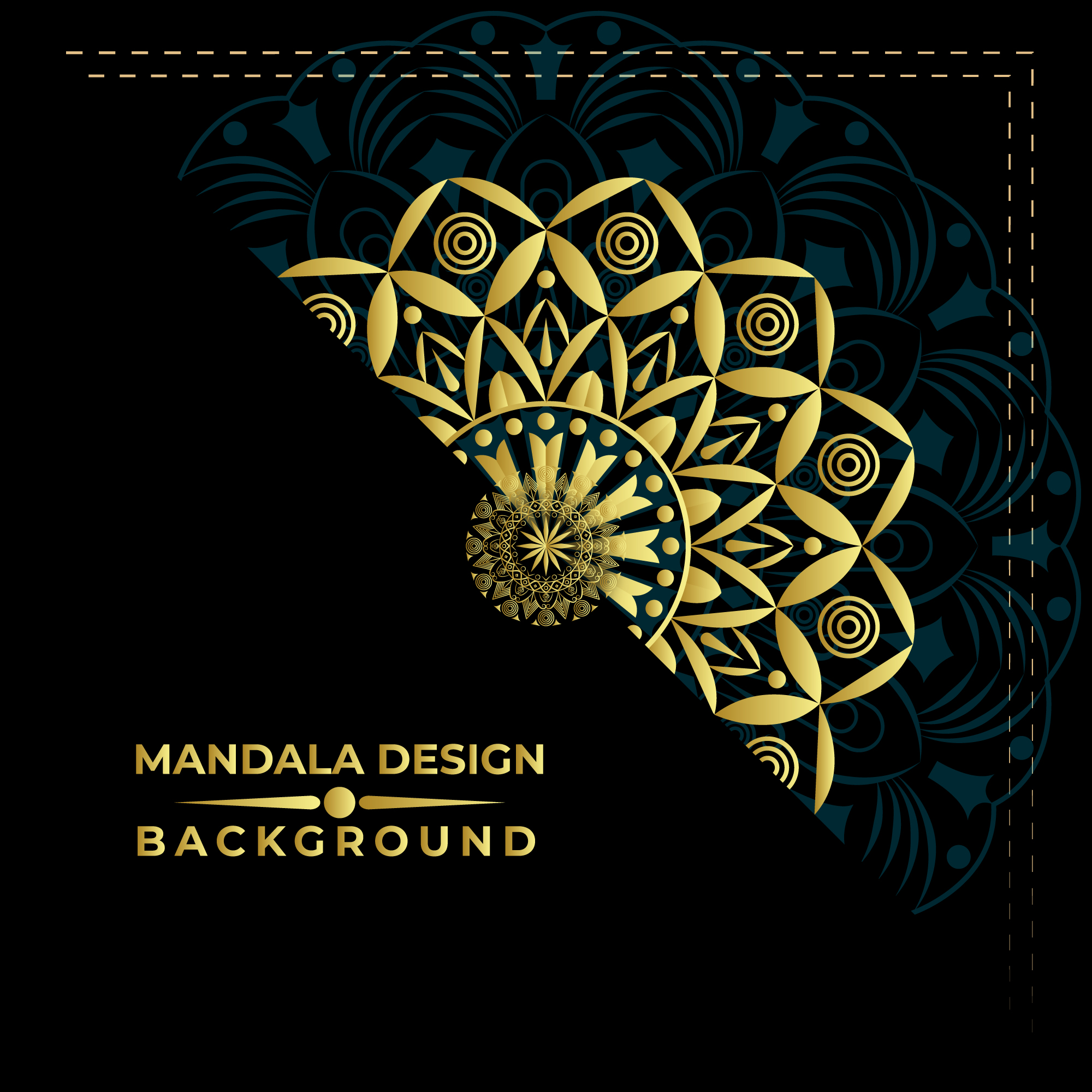 Nice Mandala Background Vector Design 690826   Download 2000x2000
