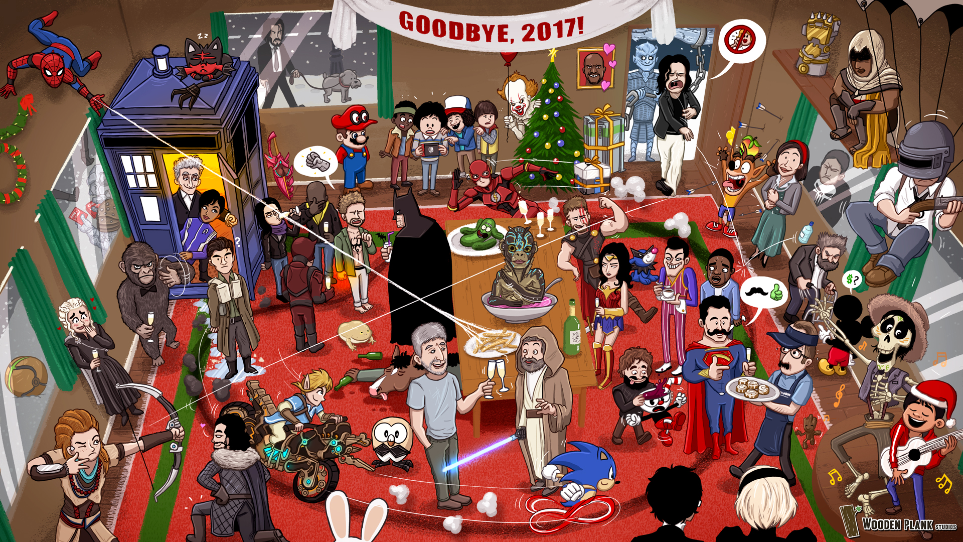 Free Download The Big 2017 Pop Culture Party Wallpapers