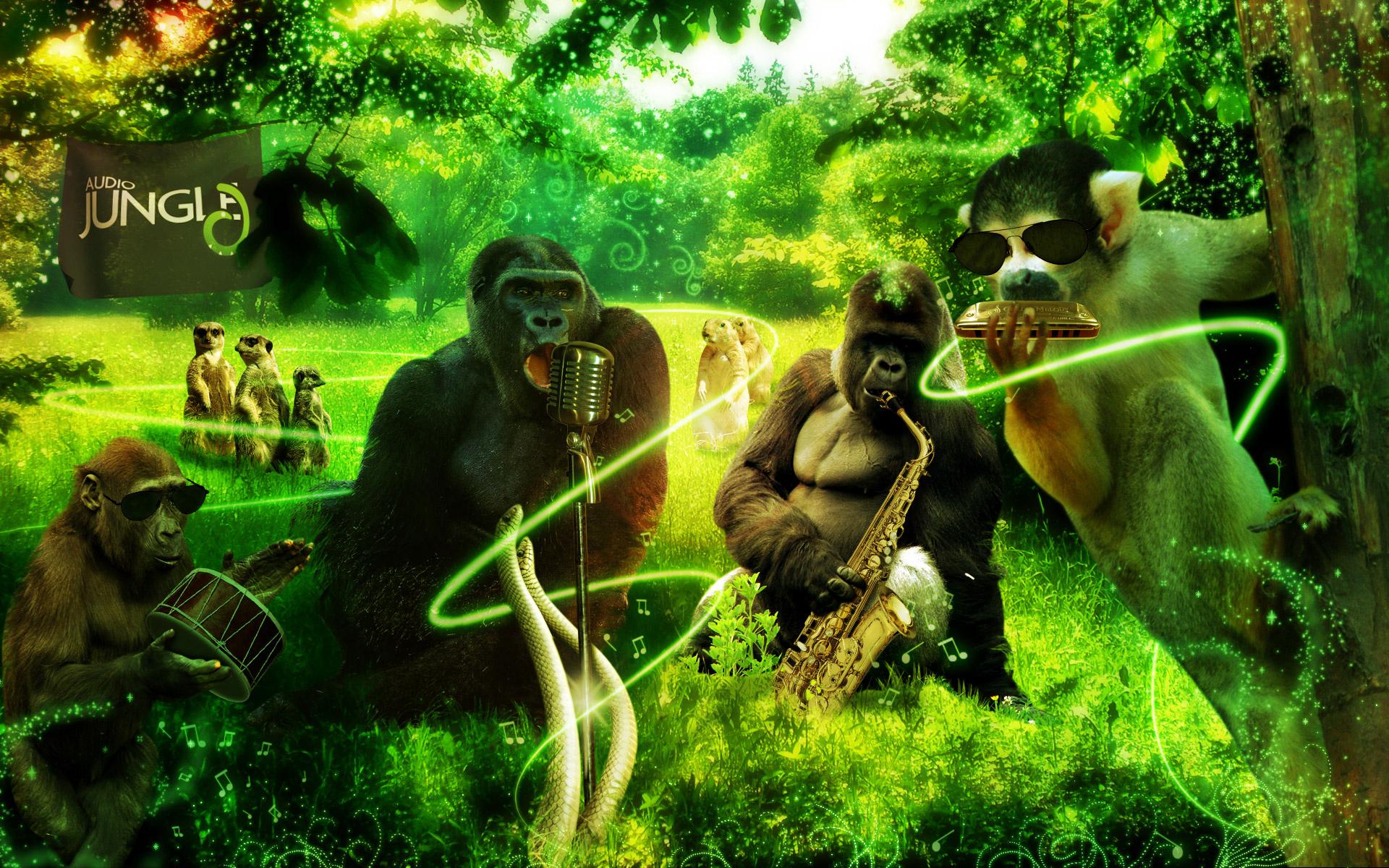 Hd Animal Wallpapers Hd Music Wallpapers: Jungle Animals Wallpaper