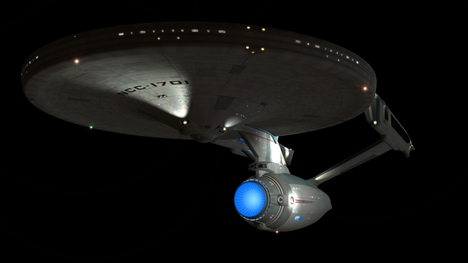 Star Trek USS Enterprise wallpaper 1920x1080 227015 WallpaperUP 1920x1080