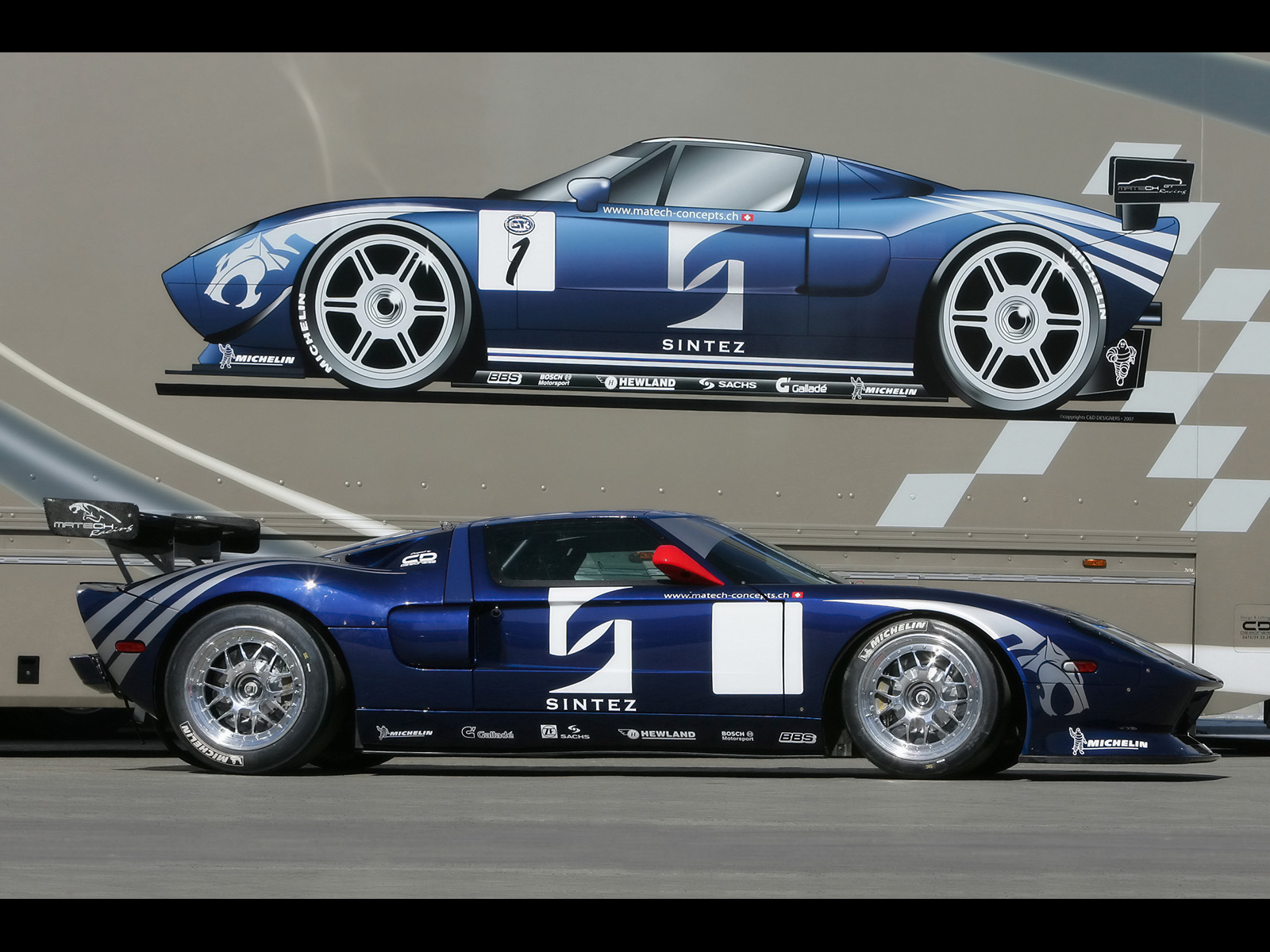 Ford Racing Wallpaper Wallpapersafari