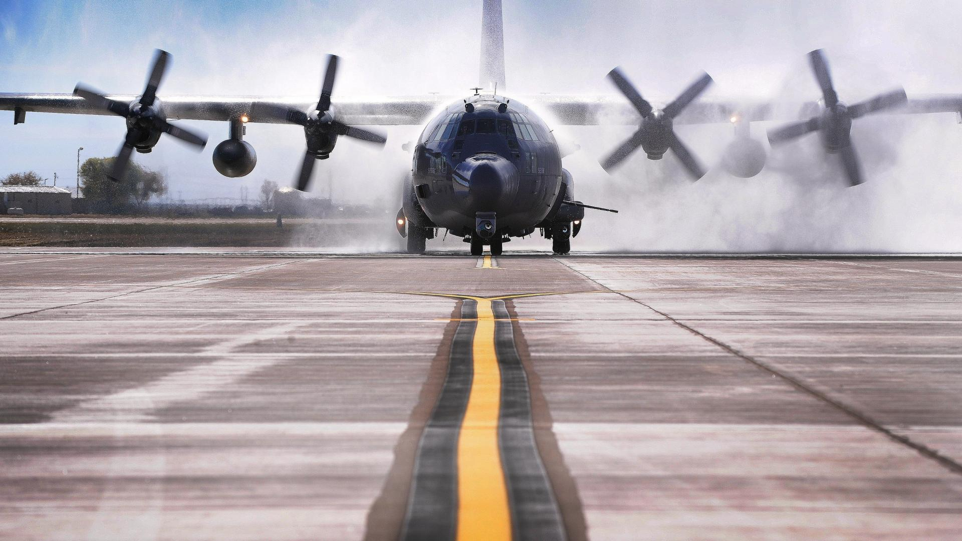 130 spookyspectre c 130 hercules aviation ac 130u wallpaper 70187 1920x1080