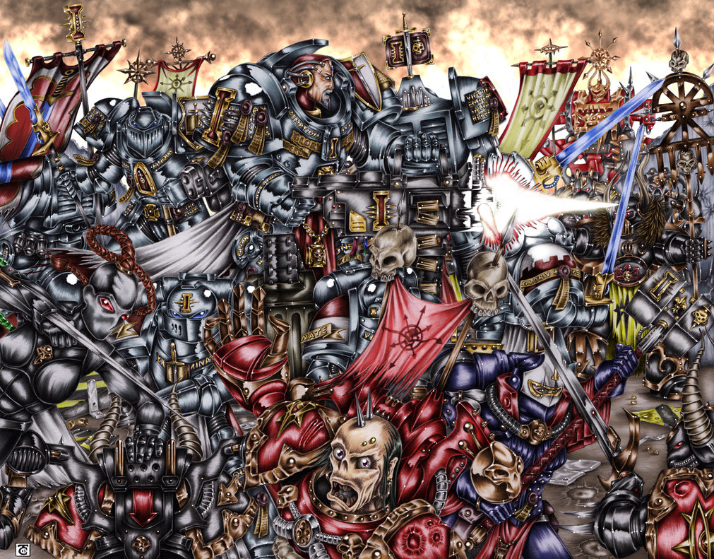 1011x791px Warhammer 40k Wallpaper Grey Knights Wallpapersafari