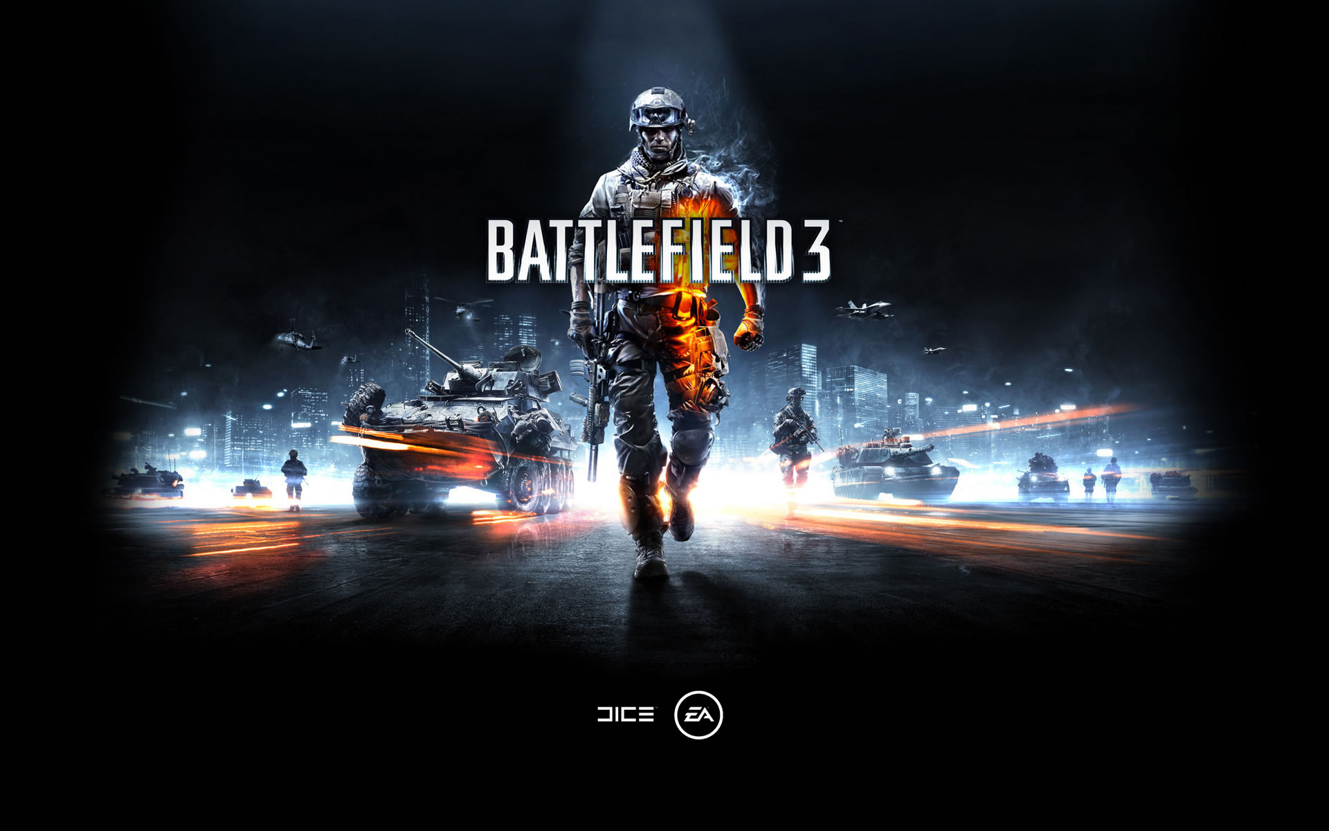 New Battlefield 3 HD Wallpaper Windows 7 Theme 1920x1200