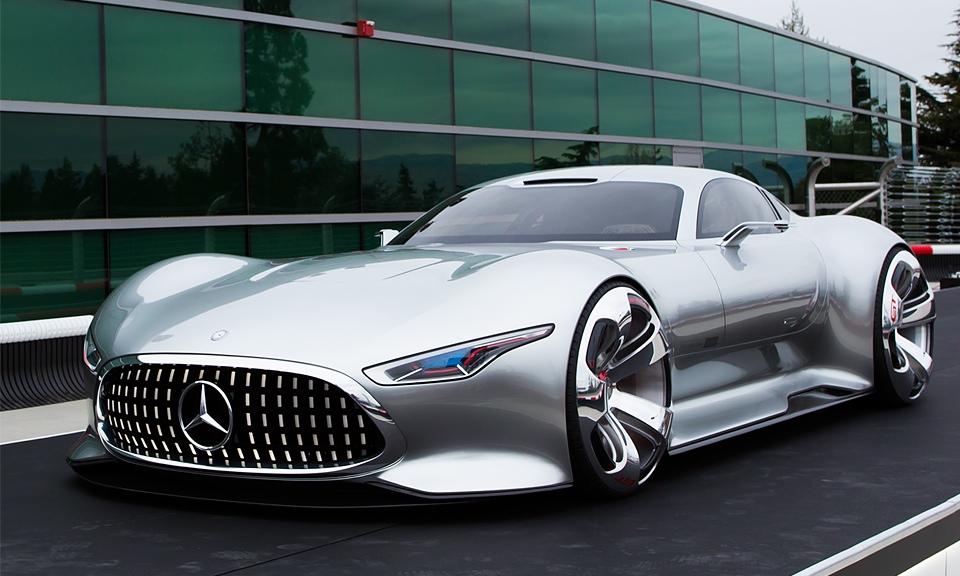 Mercedes Benz AMG Vision Gran Turismo concept 960x576