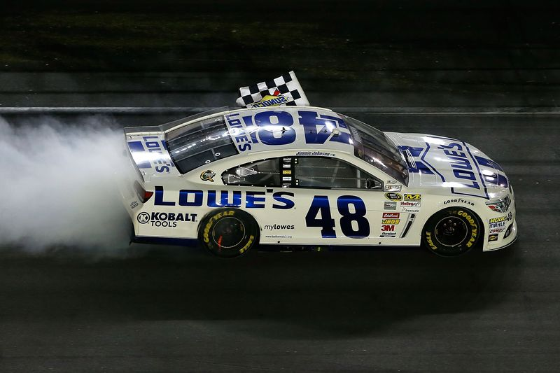Jimmie Johnson picked up his fourth win of the 2013 with his season 800x533