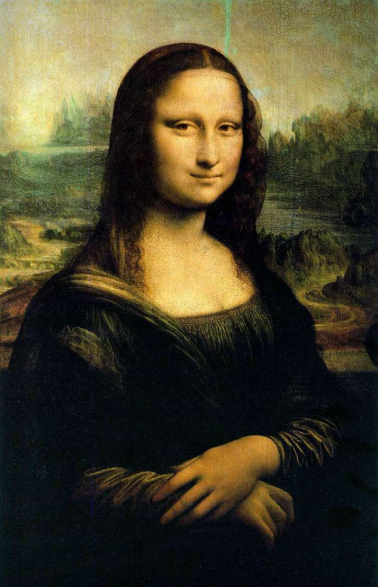Mona Lisa Wallpaper 743x1155 Mona Lisa 743x1155