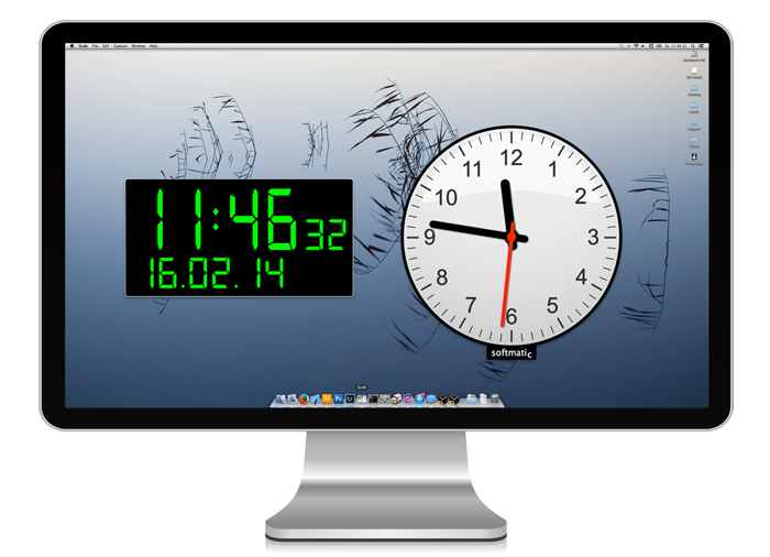 free download latest digital desktop clock 700x506