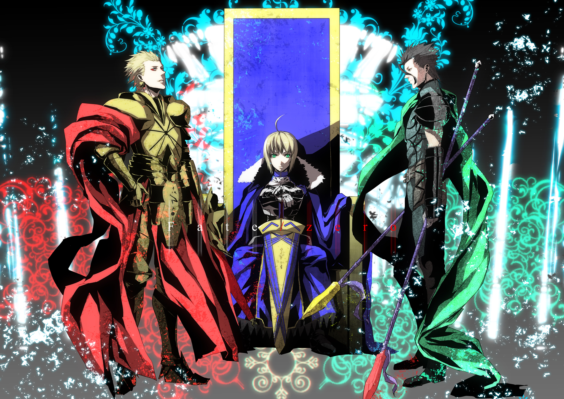 126983 armor blonde hair cape fate stay night fate zero gilgamesh 1900x1343